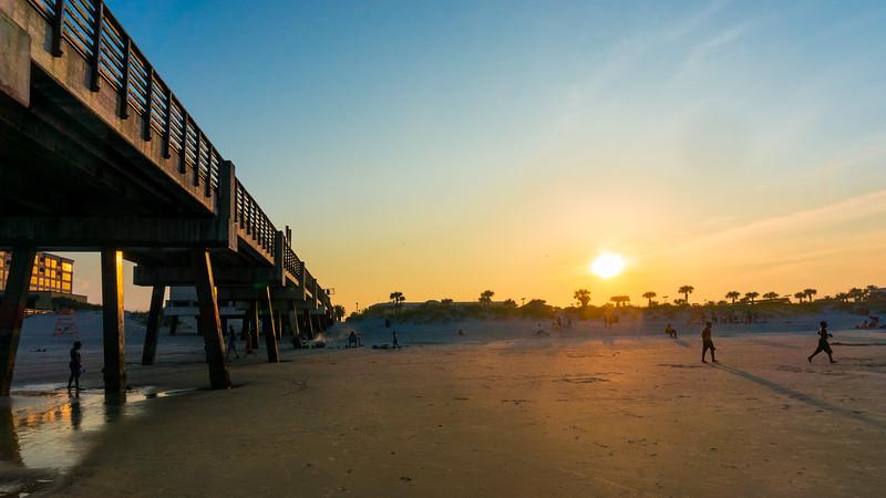 Sunset Jacksonville Beach