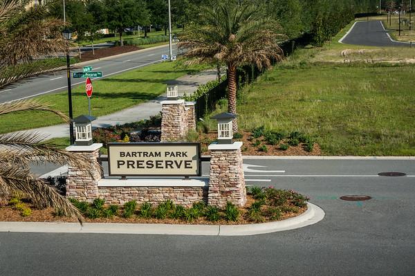 Entrance Bartram Park Preserve
