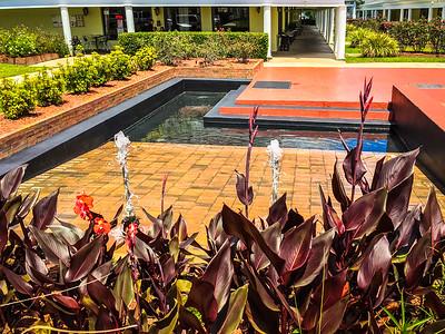 Fountain at Deerwood Village Mall