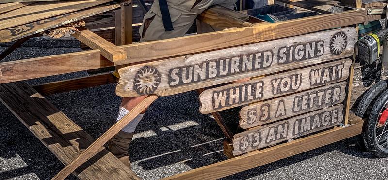 Sunburned Signs