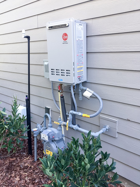 Egret Model Tankless Water Heater
