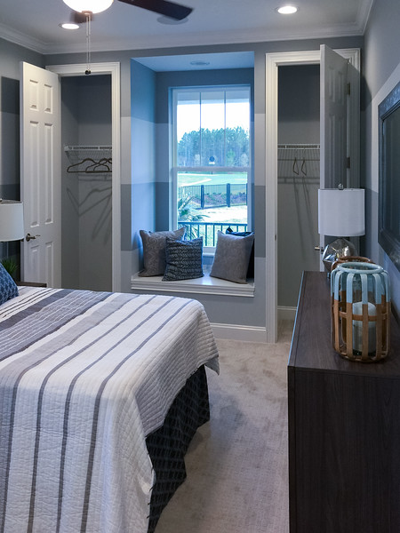 Egret Model Guest Bedroom