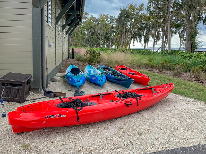 RiverClub Kayak Storage