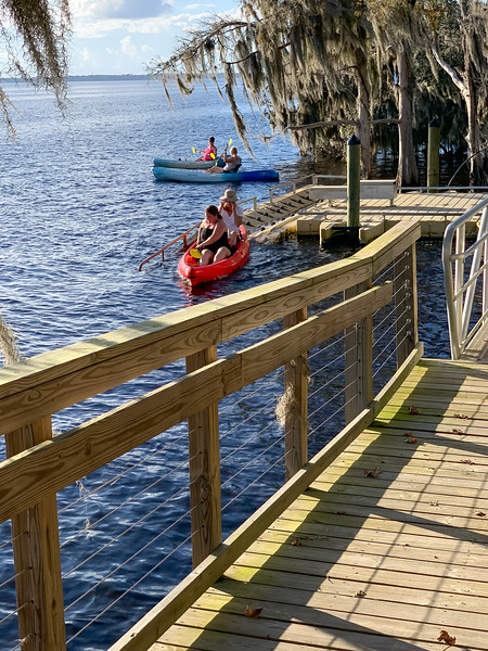 Kayak On The St Johns River