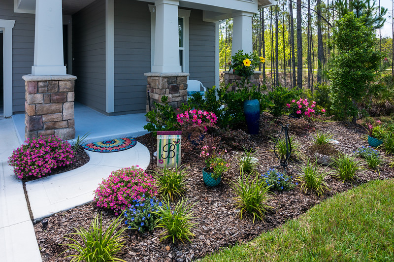 Our Front Flowerbed