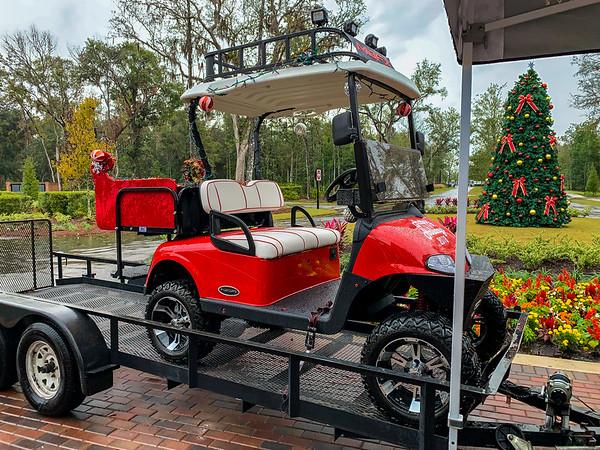Golf Cart Sleigh
