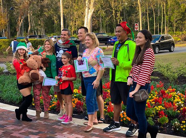 Christmas Golf Cart Decorations Winners