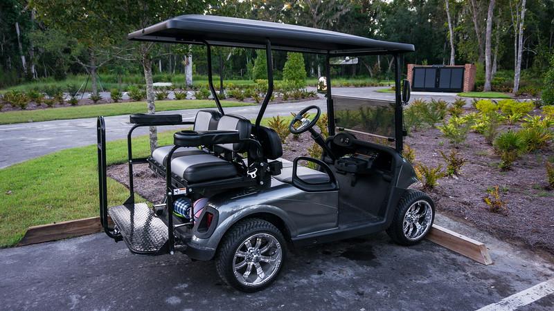 NasCarts Golf Cart at the RiverClub