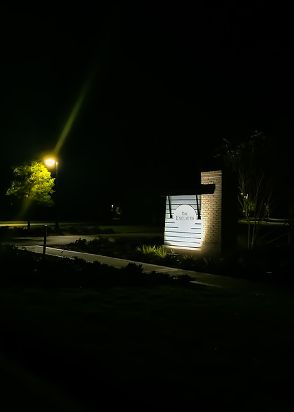 The Enclaves at Night