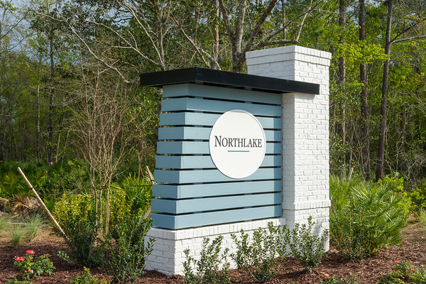 Northlake Entrance off of Bengal Grass Dr