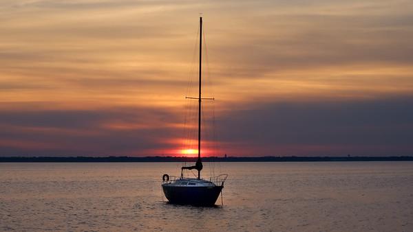 Sunset on St Johns River