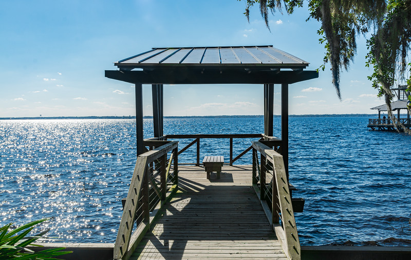 Riverfront Park in St Johns, Florida