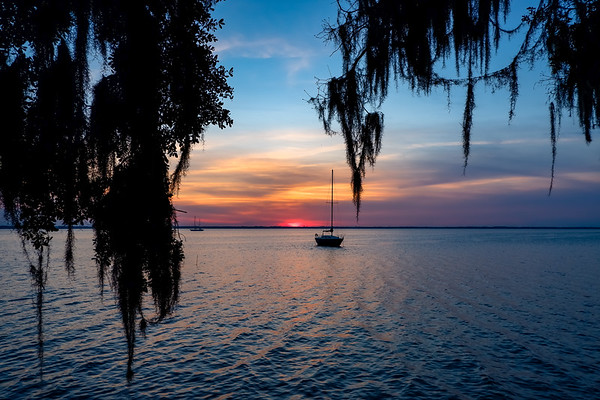 St Johns River at Sunset