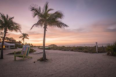 Sunrise at Island Inn
