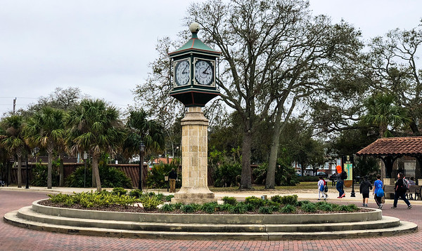 Visitor Information Center Clock