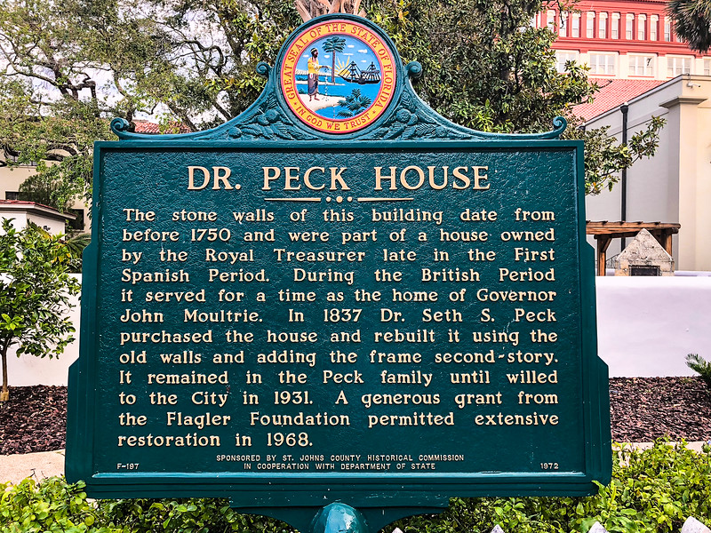DR. Peck House