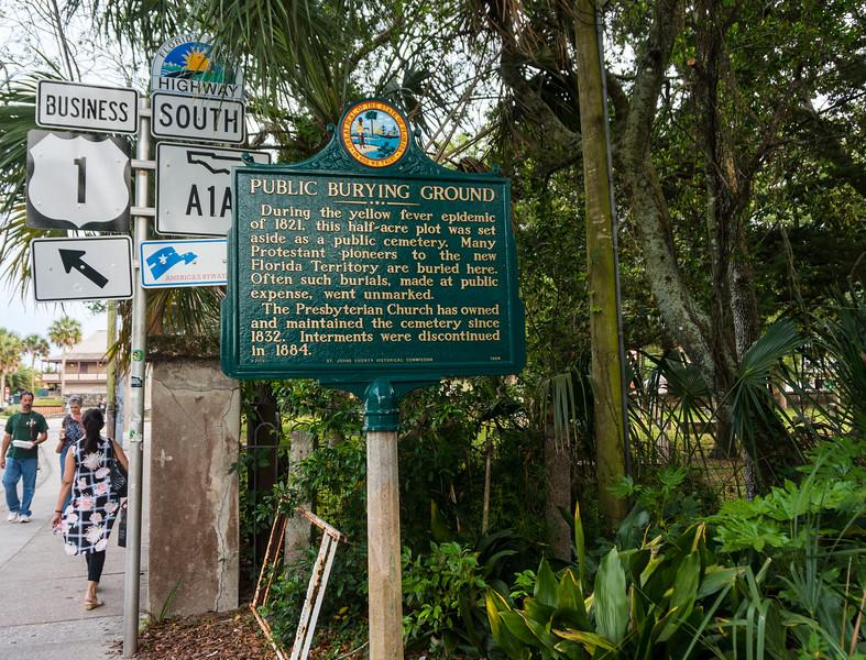 Public Burying Ground St Augustine