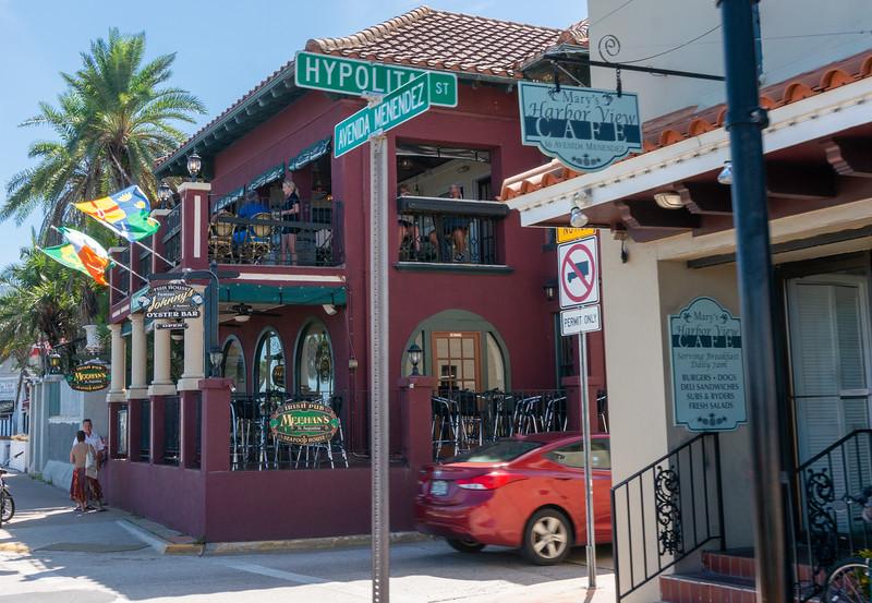 Corner of Avenda Menendez & Hypolita