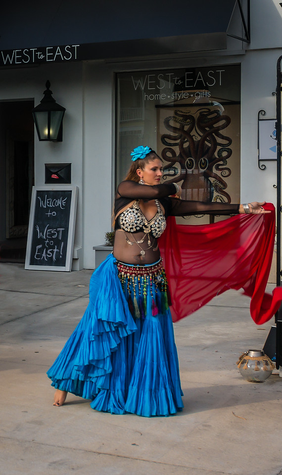 West To East Belly Dancer