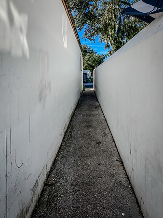 Pathway to a Parking Lot