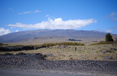 Mauna Kea from the Saddle Road