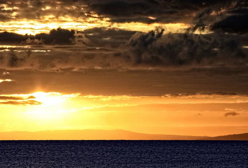 Maui Sunset Dramatic