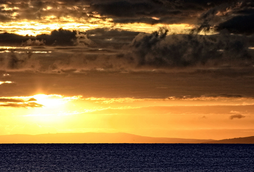 Maui Sunset Dramatic