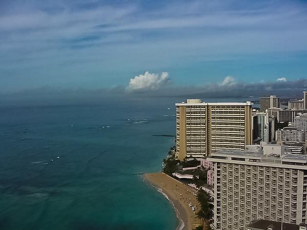 View from the Hyatt Regency