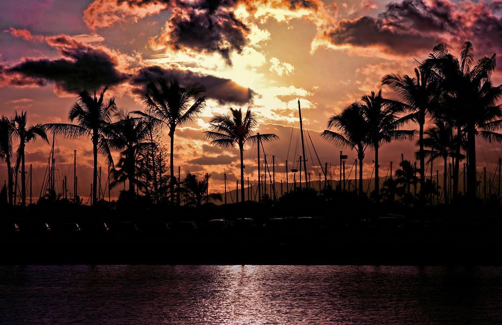 Wakiki sunset