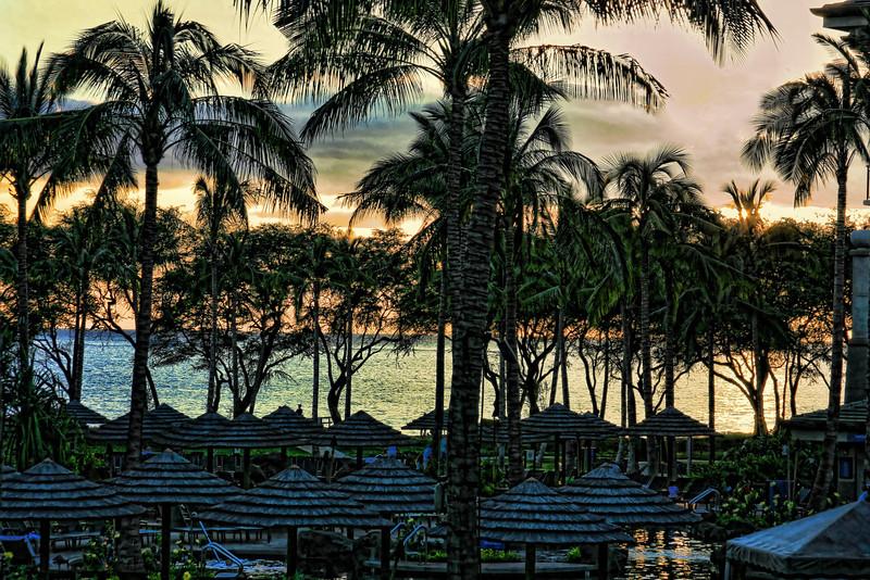 Maui Sunrise enhanced