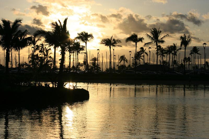 Sunset Wakiki, Hawaii 2008