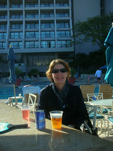 Happy hour at the pool.