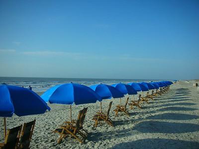 Marriott Hotel beach.