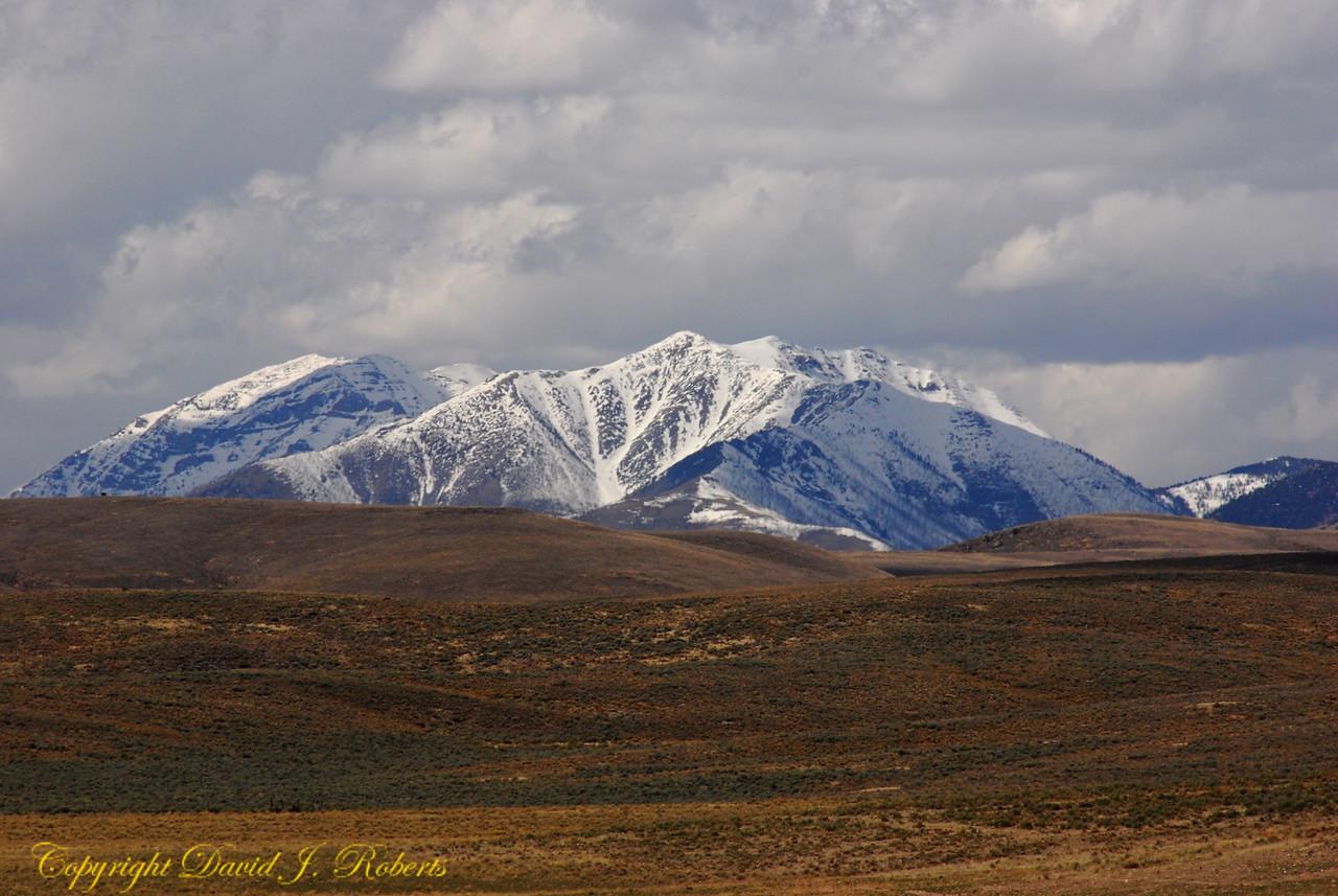Edge of the Rockies near Arco, Idaho