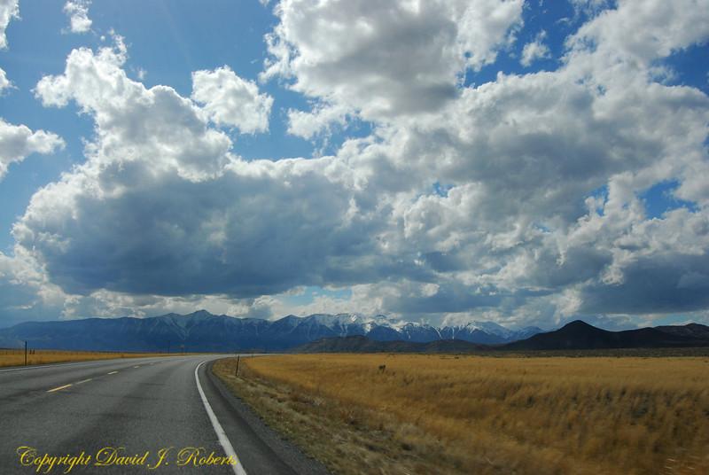 Edge of the Rockies east of Dubois, Idaho