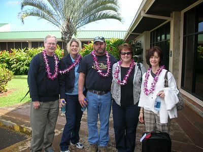 Arrival in Lihue