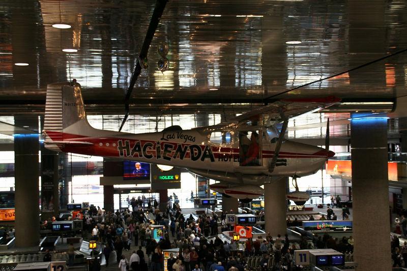 McCarran airport Arrival in Vegas
