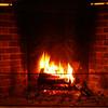 """Roaring Fireplace""<br /> December 31st 2005"