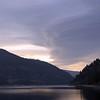 Lake Koocanusa clouds