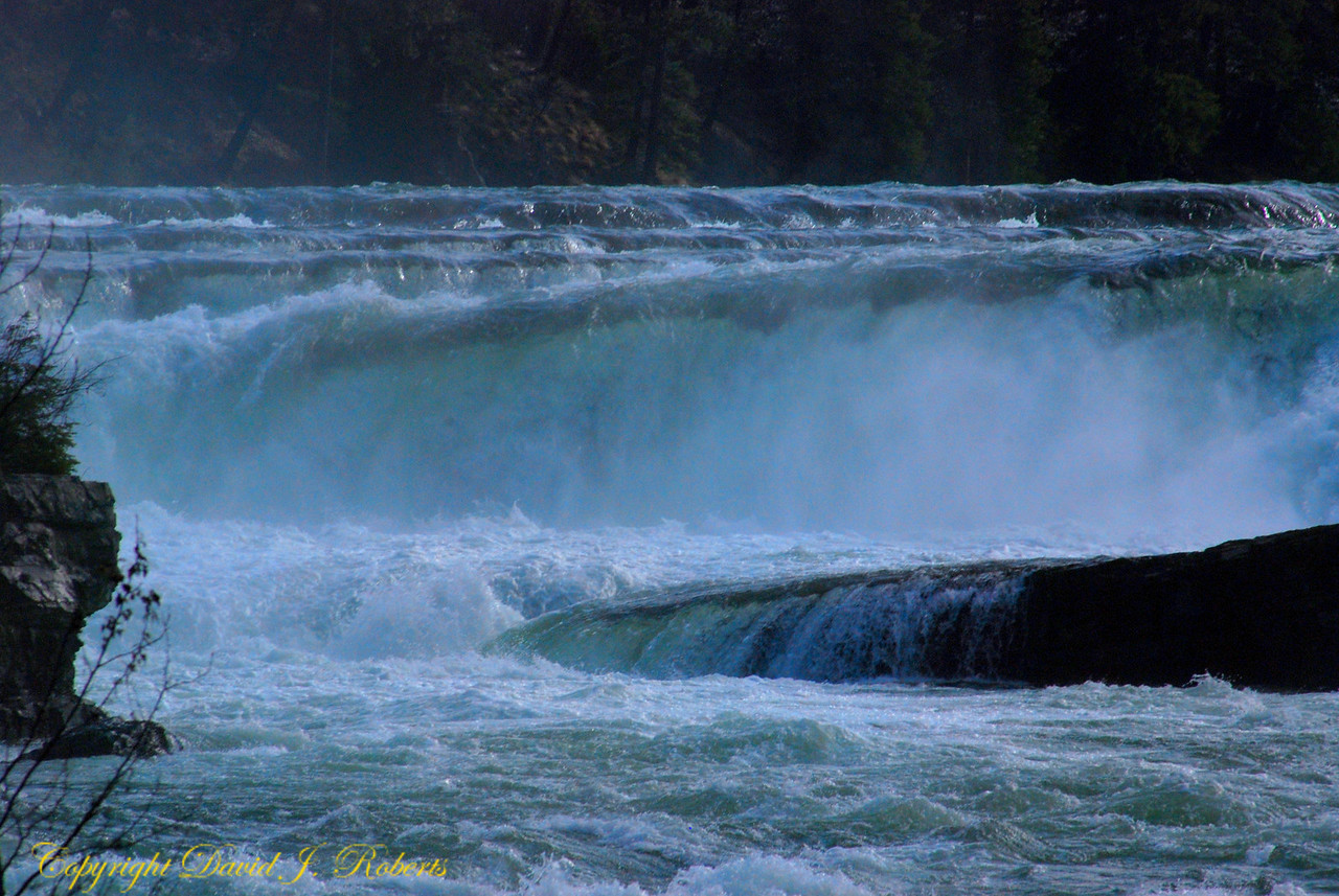 Kootenai Falls and River, Troy, Montana
