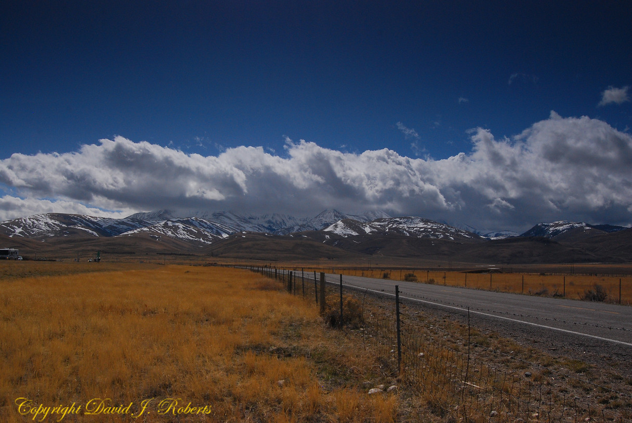 Big Sky Country - Mountains south of Dillon, Montana