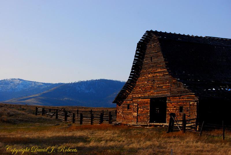 Barn near Paradise, Montana