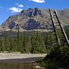 Next to Running Eagle Falls, Glacier National Park