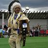 Pow-Wow dancer, Blackfeet Pow-Wow