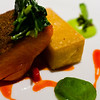 Ocean Trout with Panisse and Watercress, Red-Pepper Lemon Verbena Reduction<br /> <br /> Cyrus