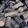 Used corks in Vincent Arroyo Winery's tasting room.