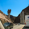 Hoover Dam Bypass under construction