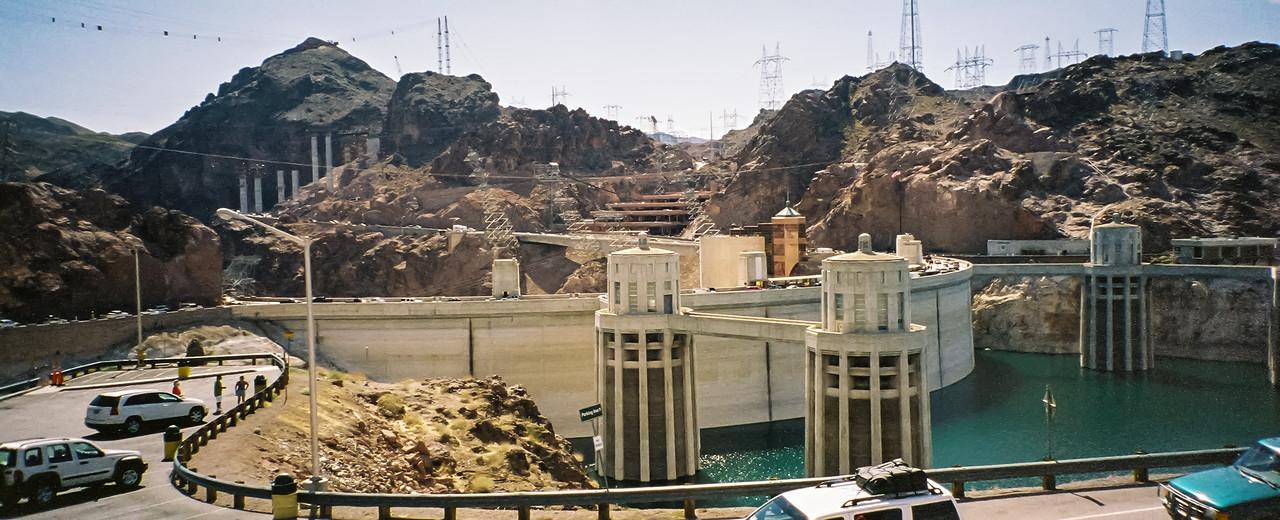 Panorama Hoover Dam