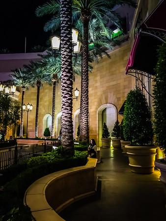 Evening Walk in Las Vegas