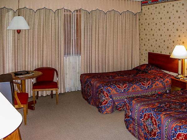Sahara Hotel Room